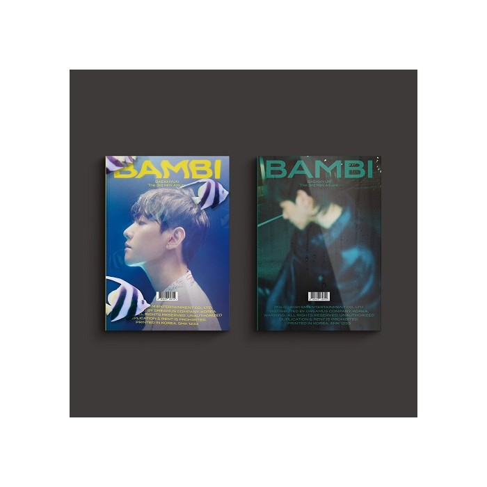 BAEKHYUN - 3rd Mini Album Bambi (Photo Book Ver.)