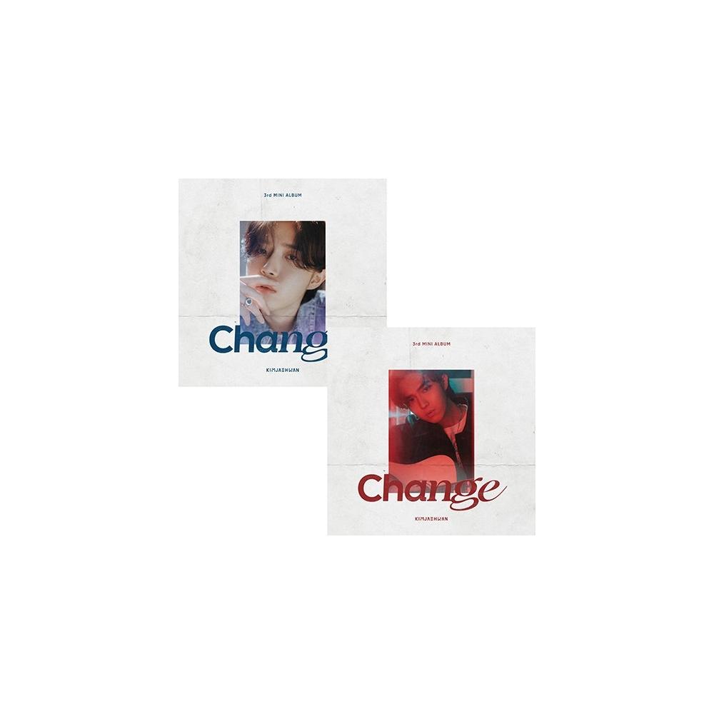 Kim Jae Hwan - 3rd Mini Album Change (Random Ver.)
