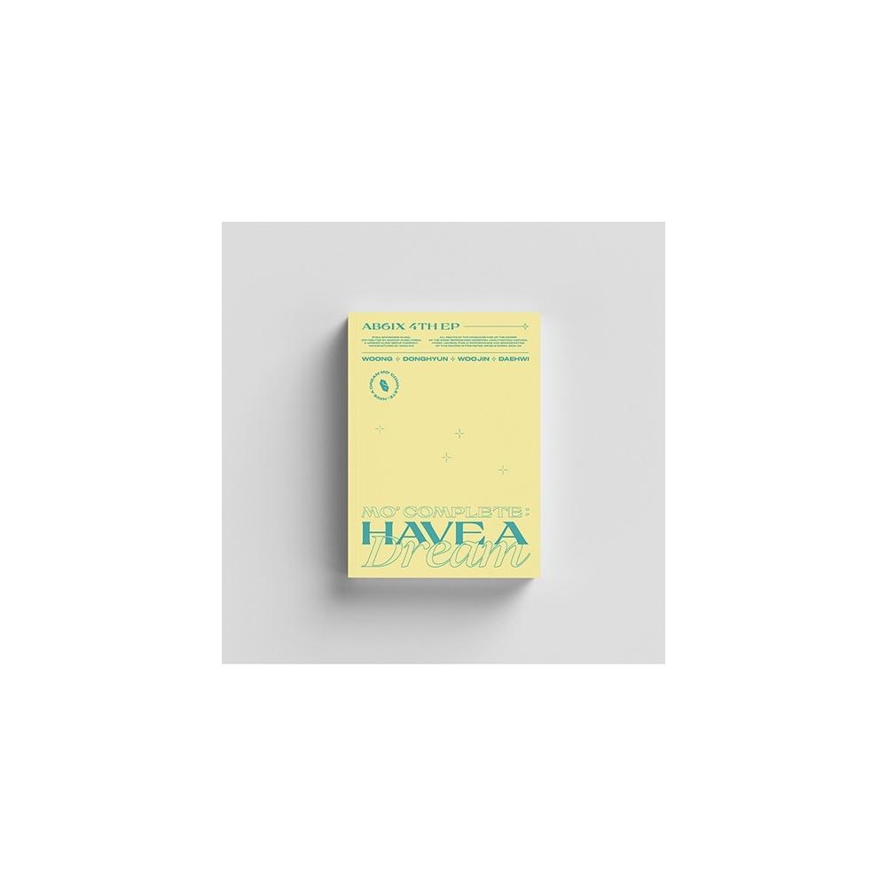 AB6IX - 4th Mini Album MO' COMPLETE : HAVE A DREAM (DREAM Ver.)