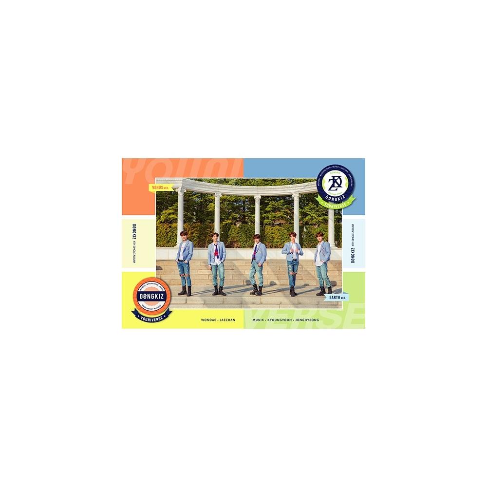DONGKIZ - 4th Single Album Youniverse (Random Ver.)