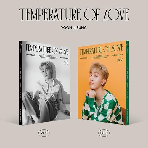 YOON JI SUNG - 2nd Mini Album Temperature of Love (Random Ver.)