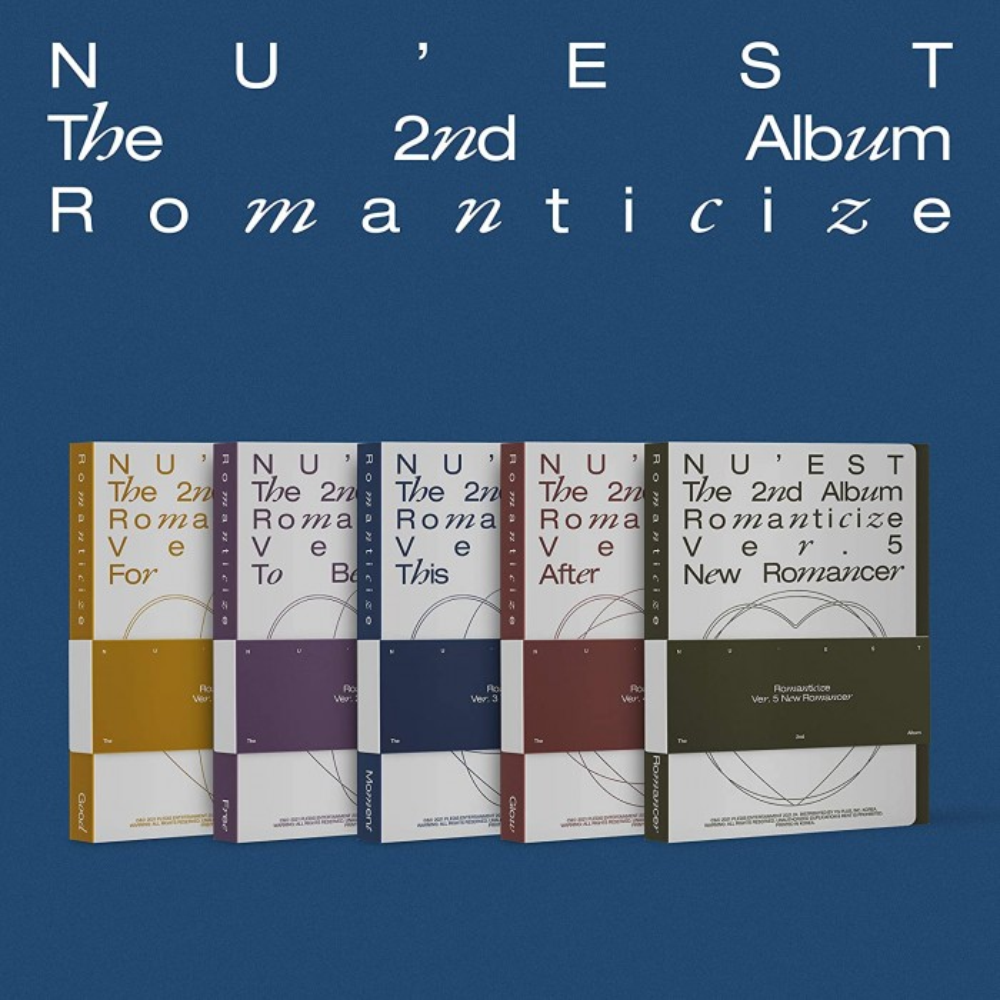 NU'EST - The 2nd Album 'Romanticize' (Random Ver.)