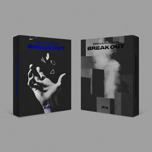 P1Harmony - 2nd Mini Album DISHARMONY : BREAK OUT (Random Ver.)