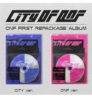 ONF - First Repackage Album CITY OF ONF (Random Ver.)