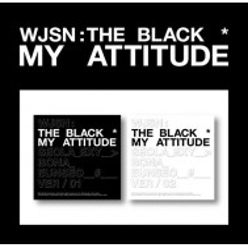 WJSN : THE BLACK - 1st Single Album My Attitude