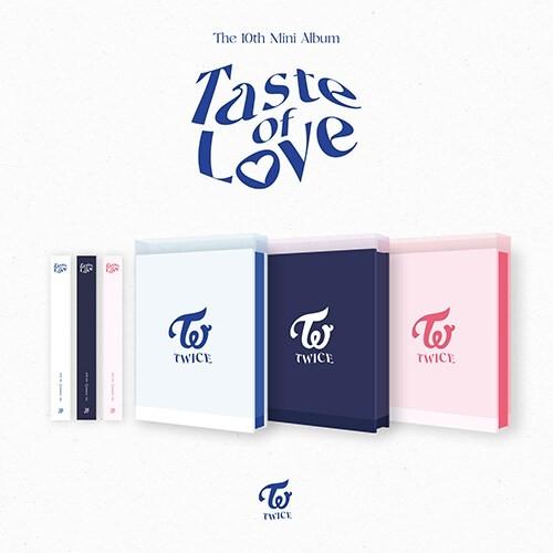 TWICE - 10th Mini Album Taste of Love