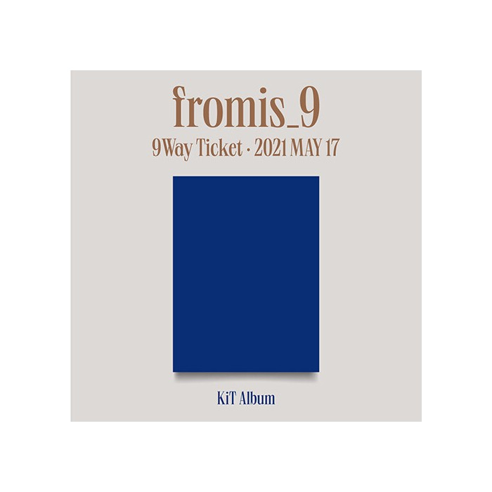 fromis_9 - 2nd Single 9 WAY TICKET Kit Album