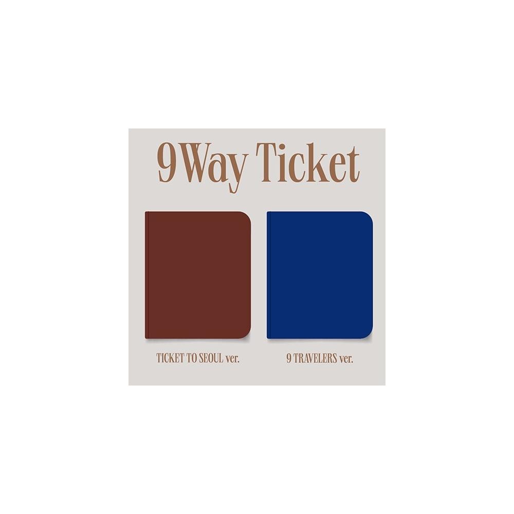fromis_9 - 2nd Single 9 WAY TICKET (Random Ver.)