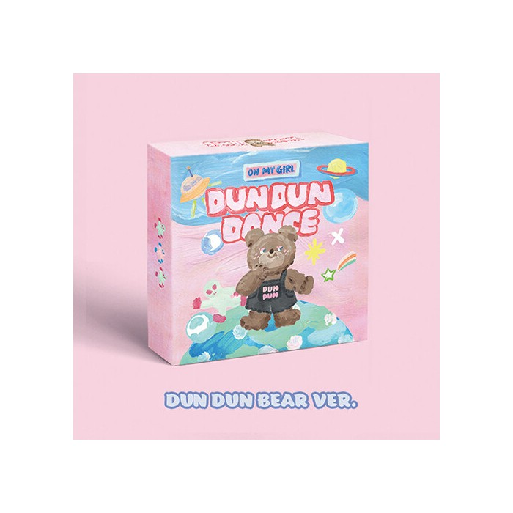 OH MY GIRL - 8th Mini Album Dear OHMYGIRL (DUN DUN BEAR Ver.)