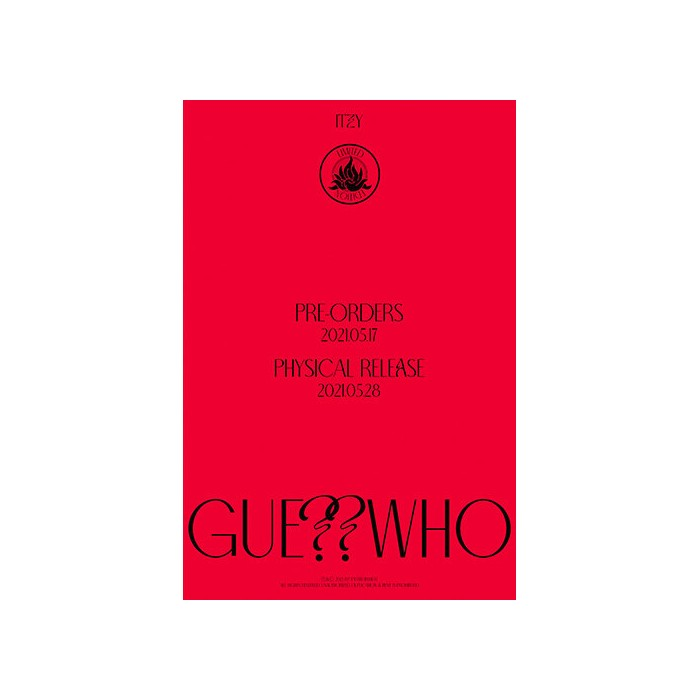 ITZY - GUESS WHO (LIMITED EDITION)