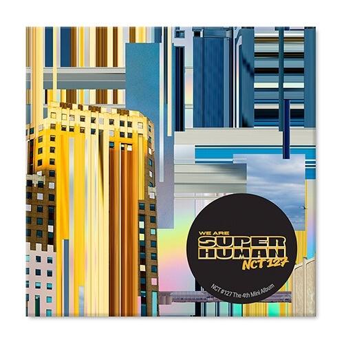 NCT 127 - 4th Mini Album WE ARE SUPERHUMAN Kihno Album