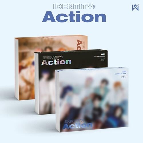 Wei - 3rd Mini Album IDENTITY : Action (Random Ver.)