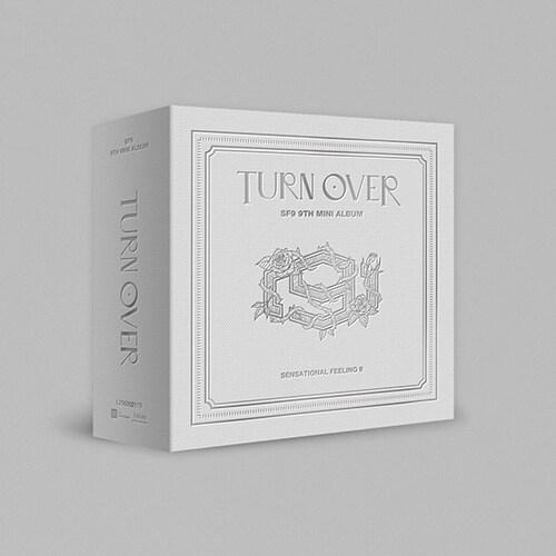 SF9 - 9th Mini Album TURN OVER Kit Album