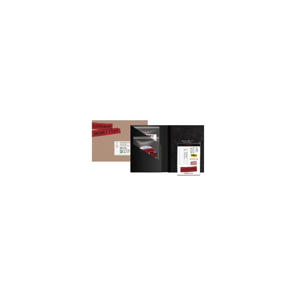 ITZY - CODENAME : SECRET ITZY BEHIND DVD PHOTOBOOK PACKAGE