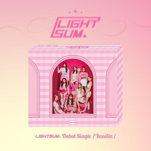 LIGHTSUM - Debut Single Vanilla