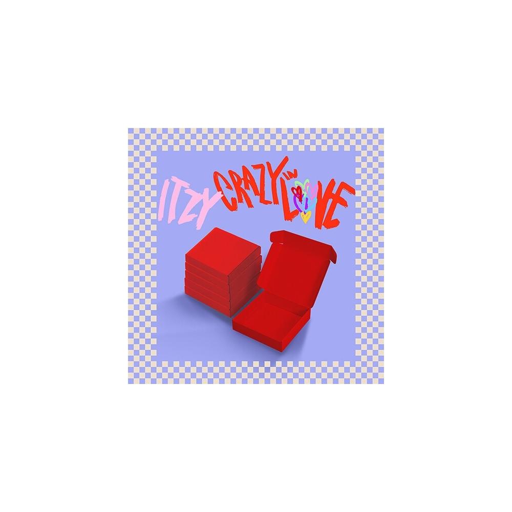 ITZY - 1st Album CRAZY IN LOVE