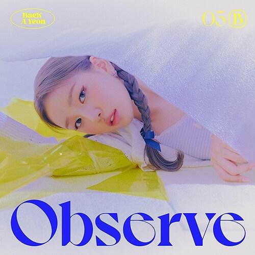 Baek A Yeon - 5th Mini Album Observe