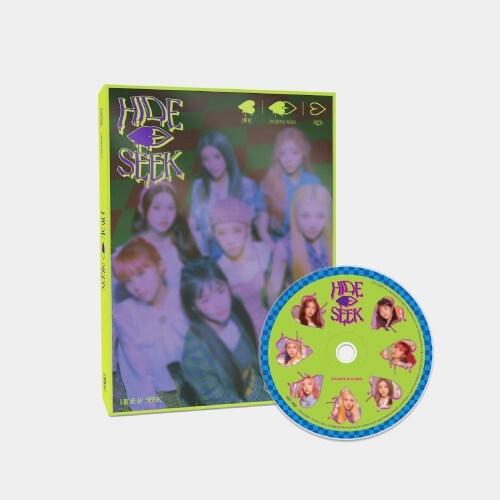 PURPLE KISS - 2nd Mini Album HIDE & SEEK (HIDE Ver.)