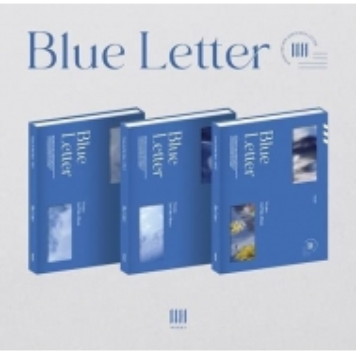 WONHO - 2nd Mini Album Blue letter