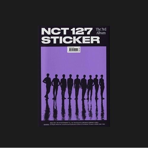 NCT 127 - 3rd Album Sticker (Sticker Ver.)