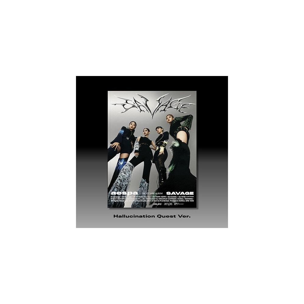 aespa - 1st Mini Album Savage (Hallucination Quest Ver.)