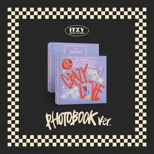 ITZY - 1st Album CRAZY IN LOVE Special Edition (PHOTOBOOK Ver.)