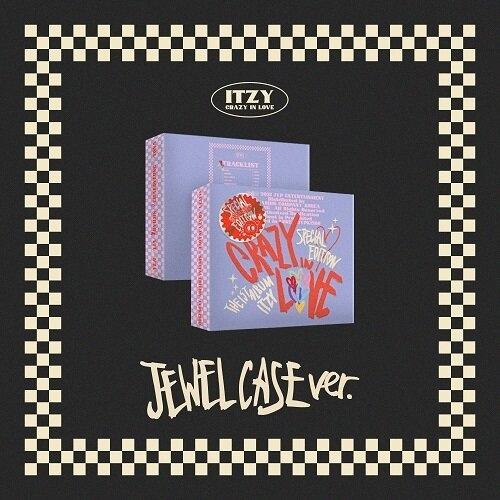 ITZY - 1st Album CRAZY IN LOVE Special Edition (JEWEL CASE Ver.)