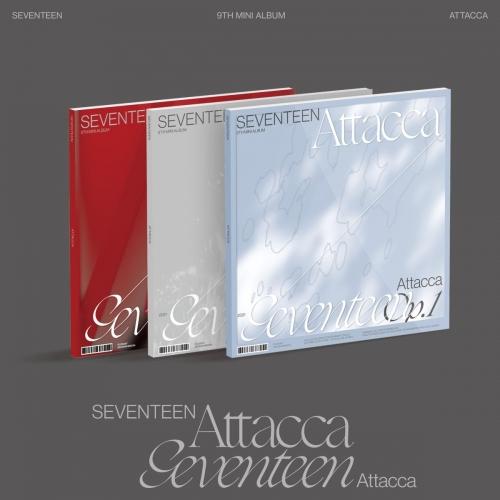 SEVENTEEN - 9th Mini Album 'Attacca' (Random Ver.)